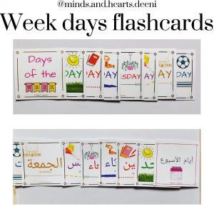 week days flashback