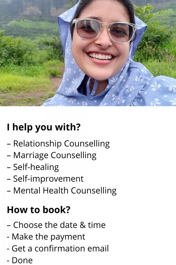 Online counselling service, online counselling, rukayya zirapur, rukayya.com